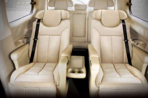Hyundai Grand Starex Rear Seats