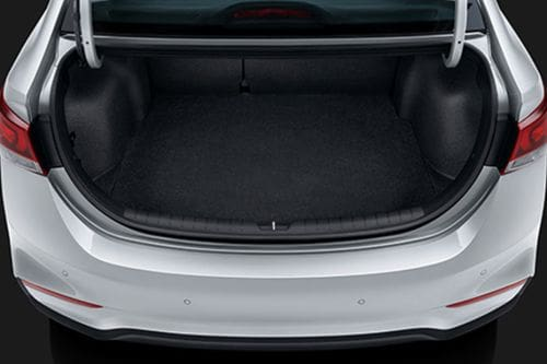 Accent Trunk Open
