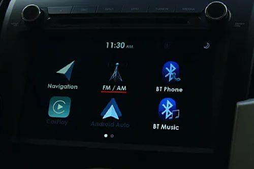 mu-X touch screen