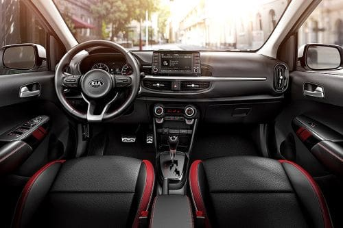 Dashboard View of Picanto