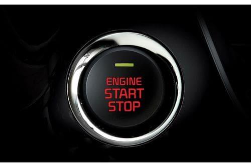 KIA Grand Carnival Engine Start Stop Button