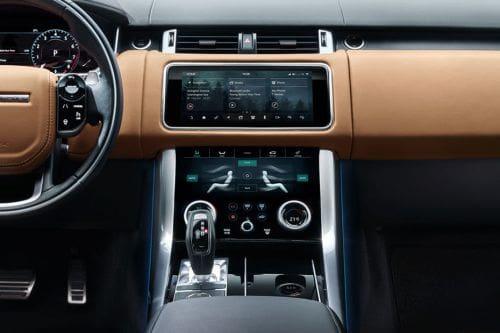 Range Rover Sport Center Console