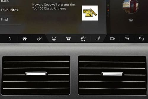 Discovery Sport Front Ac Vents