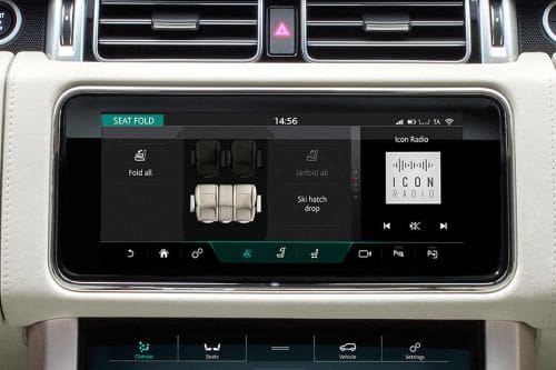 Stereo View of Range Rover
