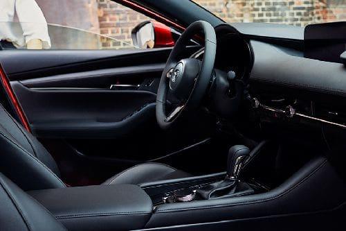 Dashboard View of 3 Hatchback