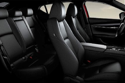 Mazda 3 Hatchback Front And Rear Seats Together