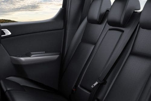 Mazda BT-50 Rear Seats