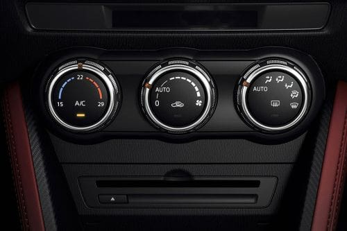 Front AC Controls of Mazda CX-3