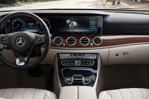 E-Class Sedan Center Console