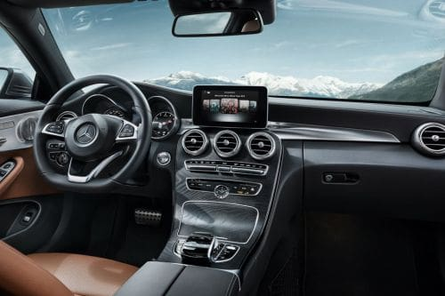 Dashboard View of C-Class Coupe