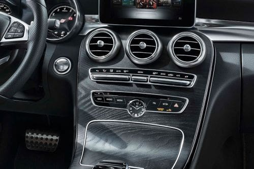 Stereo View of C-Class Coupe