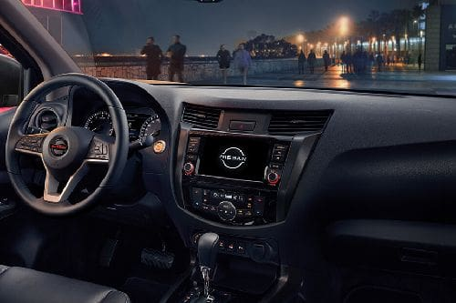 Dashboard View of Navara