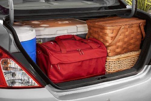 Storage Closer View of Nissan Almera