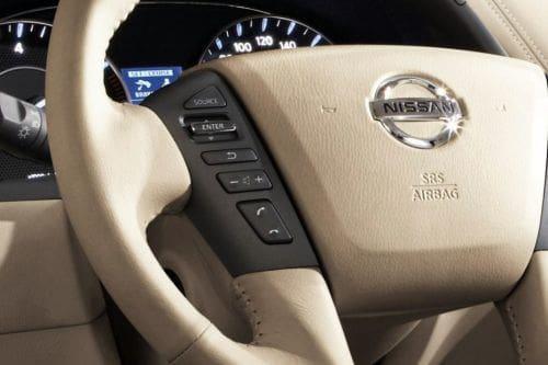 Nissan Patrol Royale Multi Function Steering