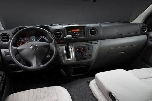 Dashboard View of NV350 Urvan