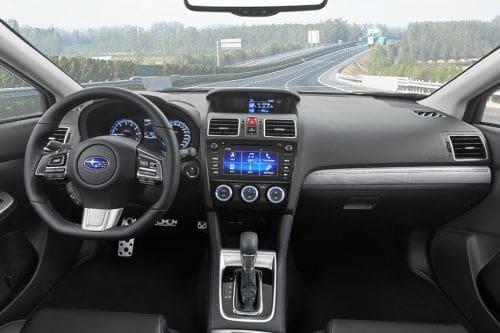 Dashboard View of Levorg