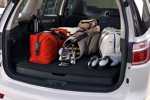 Storage Closer View of Chevrolet Trailblazer