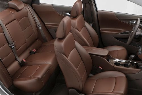 Chevrolet Malibu Front And Rear Seats Together