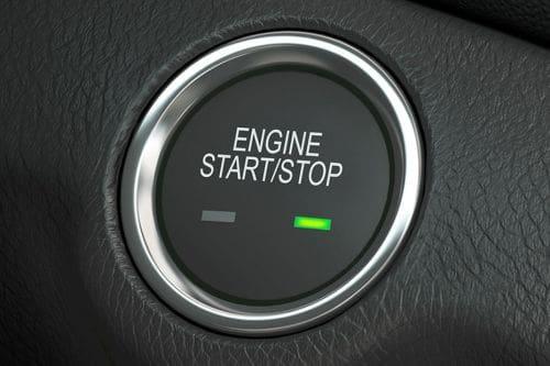 Chevrolet Cruze Engine Start Stop Button