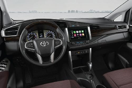 Dashboard View of Innova