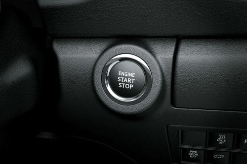 Toyota Fortuner Engine Start Stop Button