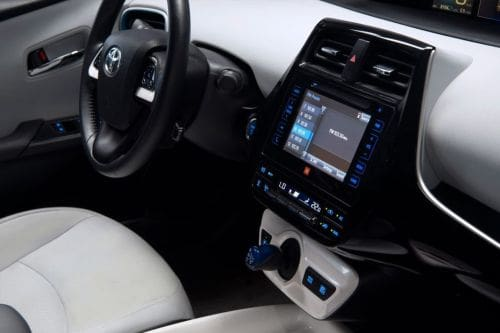 Dashboard View of Prius
