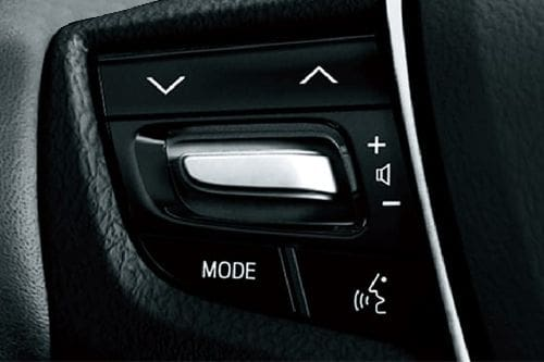 Toyota Alphard Multi Function Steering
