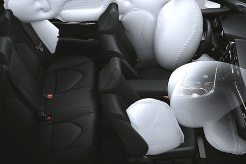 Toyota Camry AirBags View