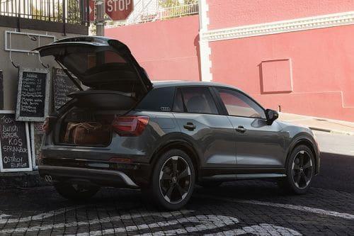 Storage Closer View of Audi Q2
