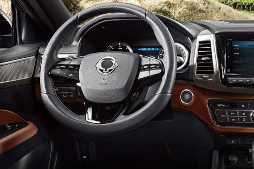 Ssangyong Musso Steering Wheel