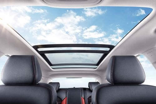 MG ZS Sunroof Moonroof