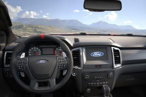 Dashboard View of Ranger Raptor